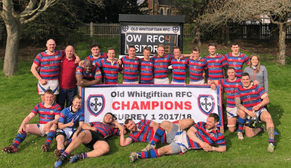 Old Whitgiftian Rugby Club 1st XI Surrey Division 1 Champions
