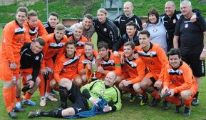 CONWY BOROUGH WIN THE HUWS GRAY CUP