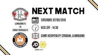 Match Preview - Llandudno FC