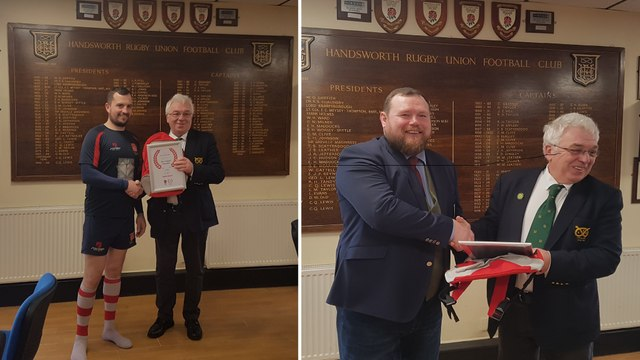 Chairman and Club Captain recognised by Mitsubishi