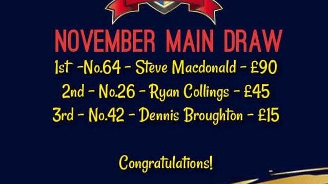 100 Club Winner - Steve MacDonald