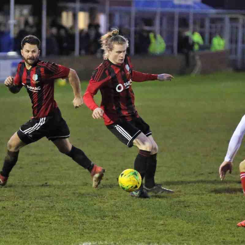 Brightlingsea Regent v Worthing FC 18.01.2020