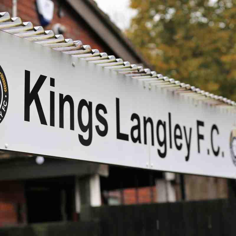 Kings Langley FC 4 - 1 Brightlingsea Regent FC - FA Trophy 3rd Rnd 31.10.2020