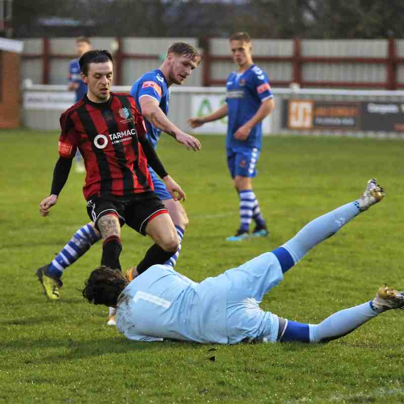 Brightlingsea Regent 1 - 2 AFC Sudbury (Friendly) 12.12.2020