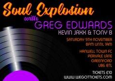 Soul Explosion With Greg Edwards