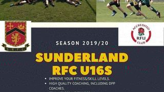 Flyer for U16s