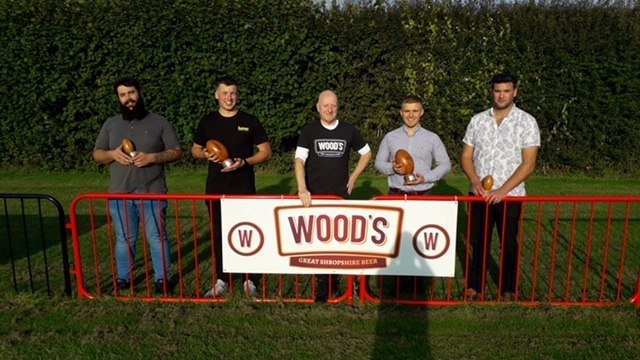 Woods Brewery player's player of the season