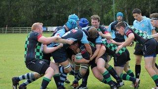 Ballymoney 1st XV v Clogher Valley 1st XV, 30th August 2014