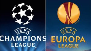 Europa League and Champions League Finals in the clubhouse