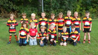 Under-7s at Toc H, Oct 5, 2014