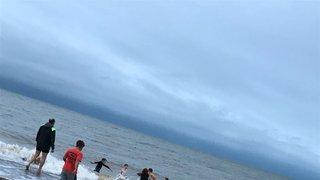 Minis take an East Coast Ice Bath!