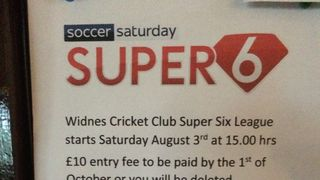 Widnes Cricket Club - Super 6 2019