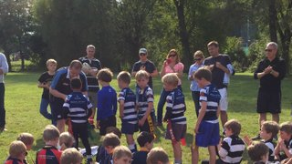 U8's Make the very best of the sunshine at Guildford RFC!