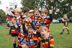 A great weekend all round for the U9's!