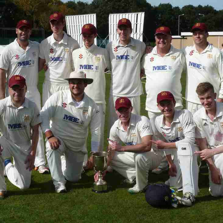 Oxton take Division One title