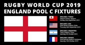 England World cup fixtures