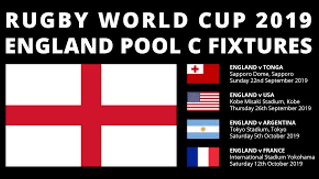 England World cup fixtures