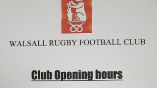 New bar opening times
