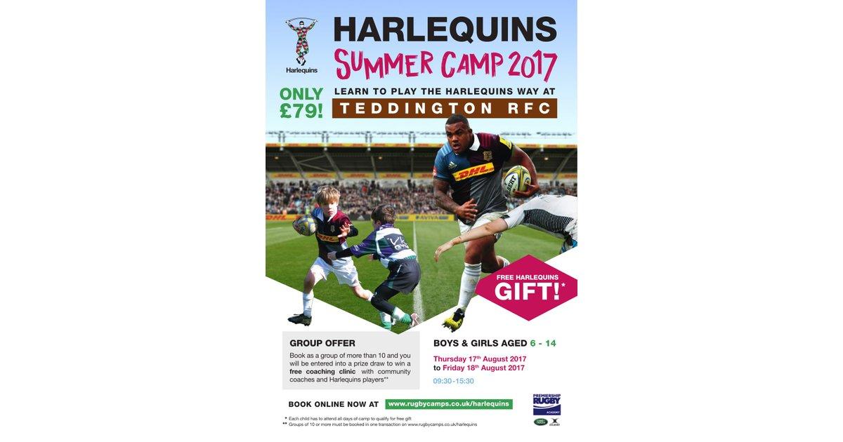 Harlequins Summer Rugby Camp @ Udney Park