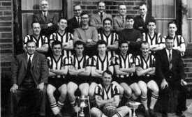 1960-61 Division 3 Champions & Groom  Cup Winners
