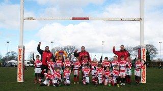 Yorkshire RFU U7s & U8s tournament at Grange Park (23/04/14)
