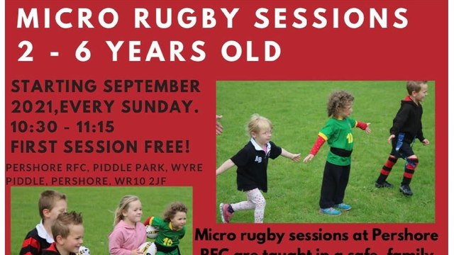 Micro rugby starts this September