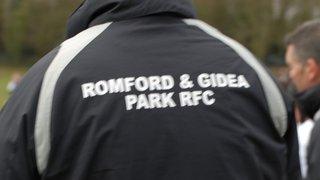 Woodford U12 v Romford & Gidea Park RFC Sunday 6th March 2011