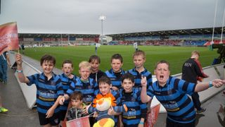 U10s at U20s World Cup Festival, AJ Bell Stadium.