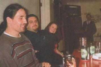 Gwilym Lewis, Craig Thomas, Andrea Thomas and Lewi