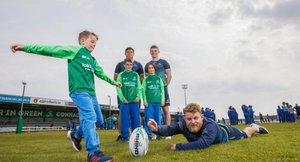 Connacht rugby summer camp at Ballina RFC