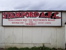 Hanson's Field  and Wothorpe Road - 1896 - 2014