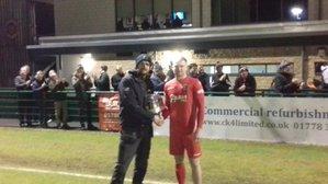 Burgess Takes Monthly Award