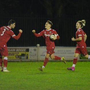 Late Goal Secures Points