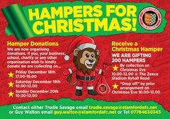 Hampers for Christmas