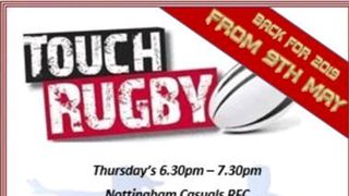 Touch Rugby returns to Casuals