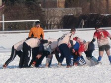 THORNTON IN SNOW RUGBY TOURNAMENT, LATVIA