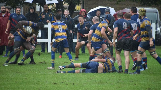 SENIOR RUGBY/FIRSTS LOSE/THREES WIN DERBY