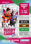 Rugby Camp - October Half Term