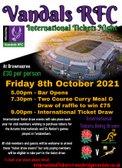 Autumn Internationals 2021 - Ticket Night