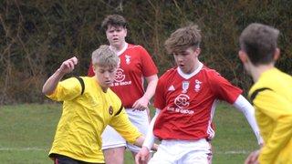 U16 AFC Henley Hurricanes v U16 Bracknell Town FC Youth