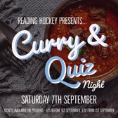 Curry & Quiz Night Tomorrow - Saturday 7th