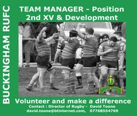 2nd XV and Development Team Manager