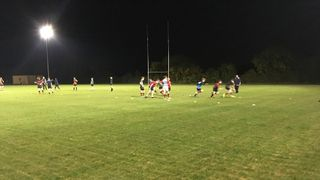 Titan's U15 training Barnards Field 16/10/18