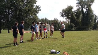 2018 Clinic with Paolo Iscaro (Former Italian International Player)