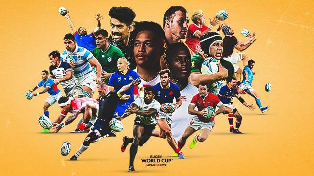 RUGBY WORLD CUP - QUARTER FINAL WEEKEND 19th-20th OCTOBER
