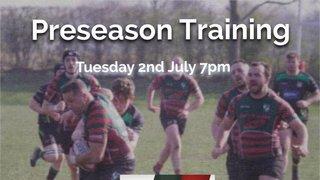 Wrexham Rugby Club - Seniors Preseason Training date announced