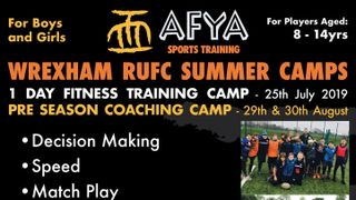 AFYA - Pre Season Coaching Camp