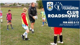 HTAFC Roadshow Summer Schools at Hepworth for 2 days