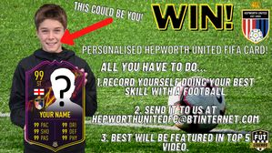 WIN A PERSONALISED FIFA CARD