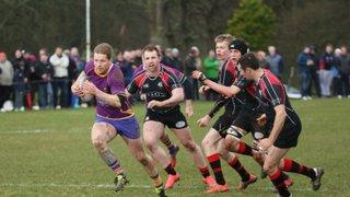 Marr Rugby 1st XV match report v Biggar RFC